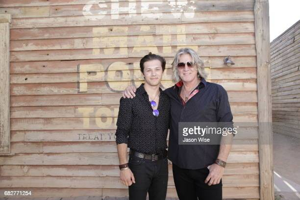 Leo Howard and William Shockley attend 'You're Gonna Miss Me' premiere sponsored by Visit Tucson on May 13 2017 in Tucson Arizona