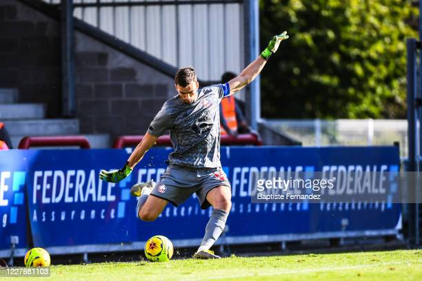 Leo JARDIM of Lille during the Friendly match between Lyon and Mouscron on July 18 2020 in Mouscron Belgium