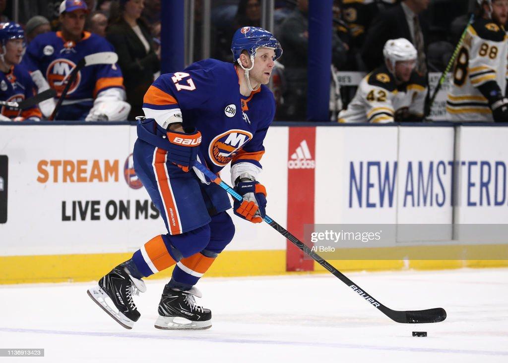 NY: Boston Bruins v New York Islanders