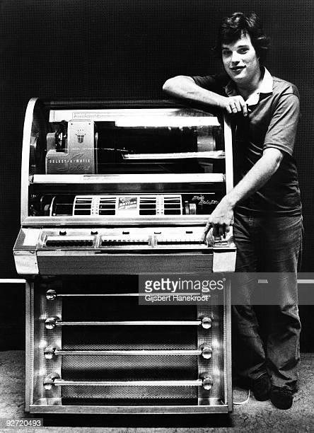 Leo Kottke posed at VPRO Radio Studio in Hilversum Netherlands in 1973