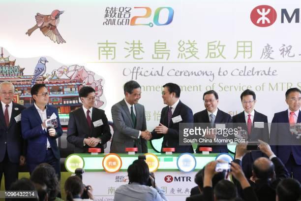 Leo Kung Lincheng Ocean Park chairman Ben Chan Hanpan LegCo member Lincoln Leong Kwokkuen Chief executive officer of MTR Corporation Leung Chunying...