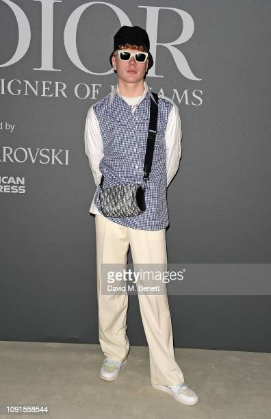 Leo Mandella attends a private view of the 'Christian Dior Designer of Dreams' exhibition at The VA on January 30 2019 in London England