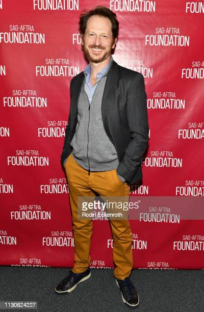 Leo Marks poses for portrait at the SAGAFTRA Foundation Conversations with 'The Maestro' at SAGAFTRA Foundation Screening Room on February 18 2019 in...
