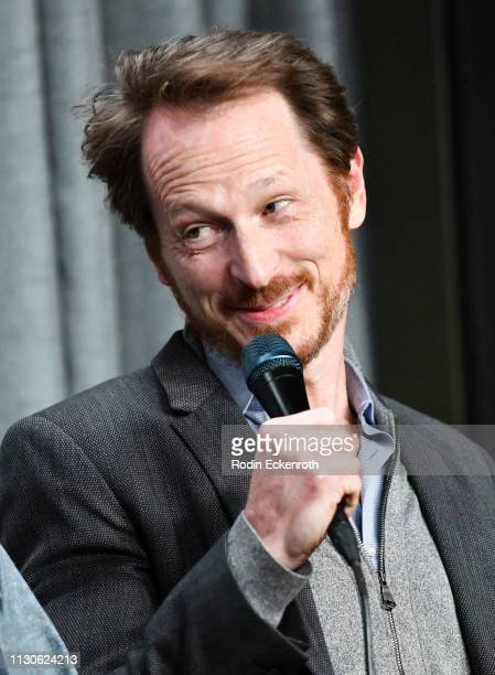 Leo Marks speaks at the SAGAFTRA Foundation Conversations with 'The Maestro' at SAGAFTRA Foundation Screening Room on February 18 2019 in Los Angeles...