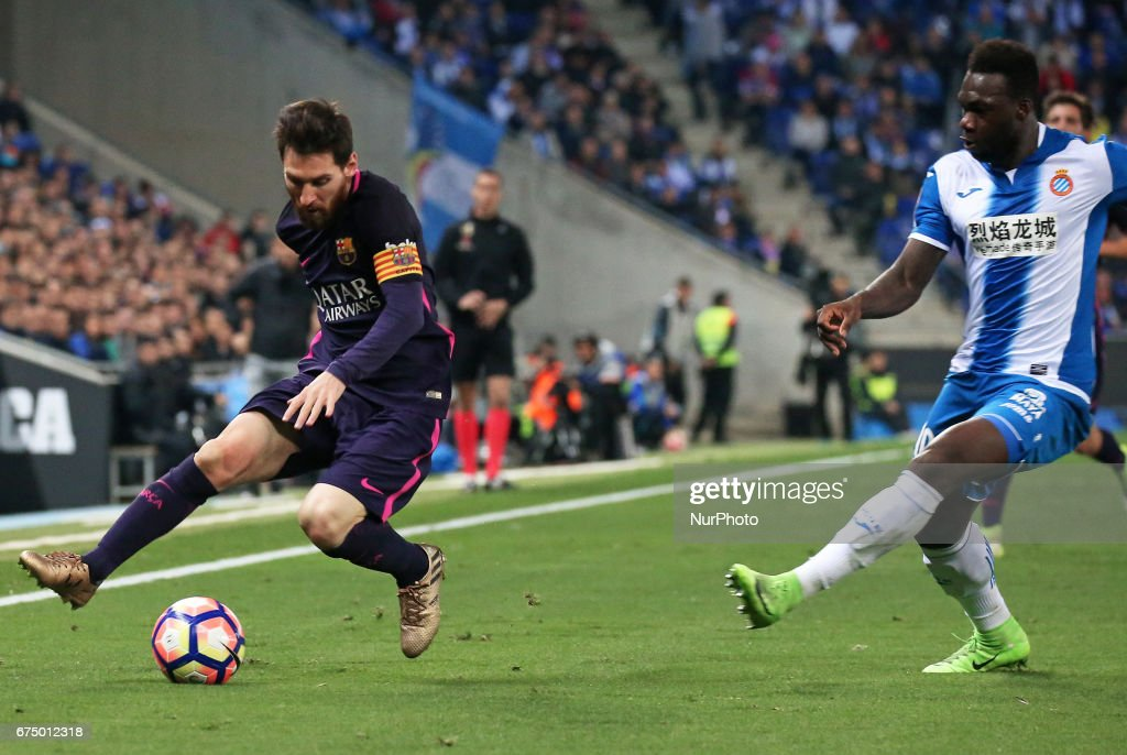 RCD Espanyol v FC Barcelona - La Liga : News Photo