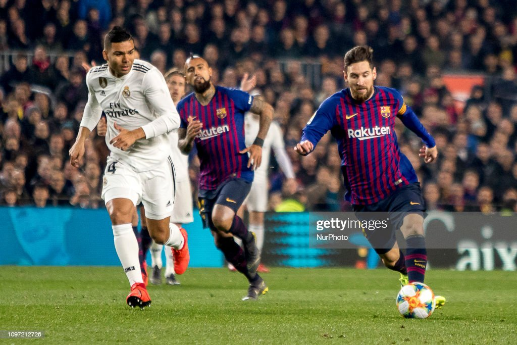 FC Barcelona v Real Madrid - Spanish Copa del Rey : ニュース写真
