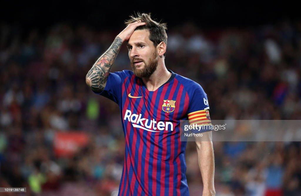FC Barcelona v Deportivo Alaves - La Liga : ニュース写真