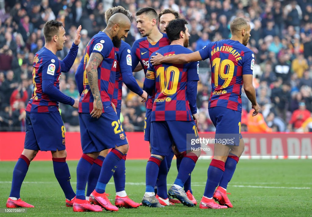 FC Barcelona v SD Eibar SAD - La Liga : News Photo