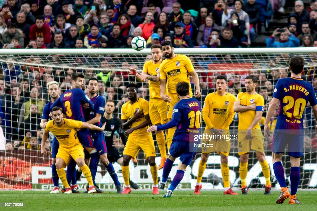Barcelona v Atletico Madrid - La Liga : News Photo