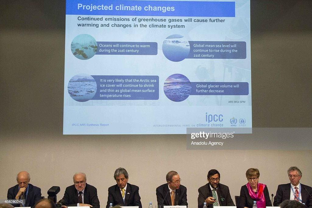 Fifth assessment report of Intergovernmental Panel on Climate Change : Nieuwsfoto's