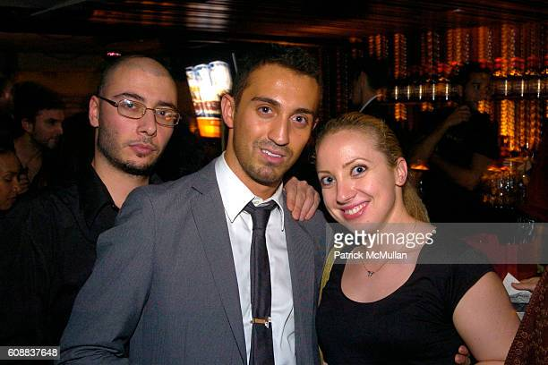 Leo Nid Stephan and Paulina Korenblum attend Drambuie Den Event with Special Guest Heather Vandeven at Level V on October 22 2007 in New York