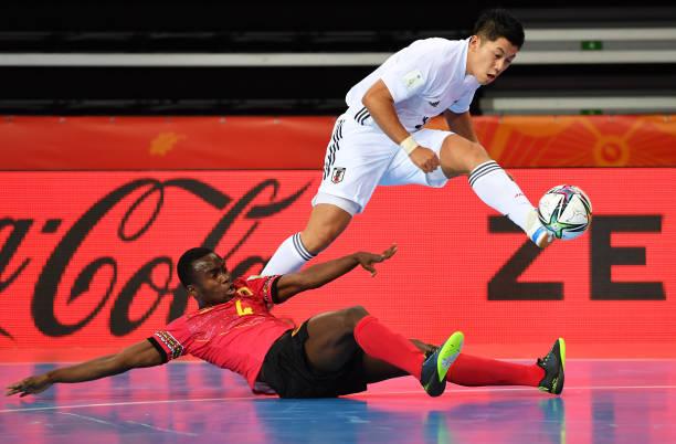 LTU: Angola v Japan: Group E - FIFA Futsal World Cup 2021