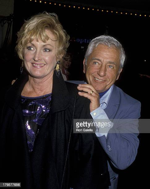 Leo Penn and Eileen Ryan attend the premiere of At Close Range on April 17 1986 at Mann Bruin Theater in New York City