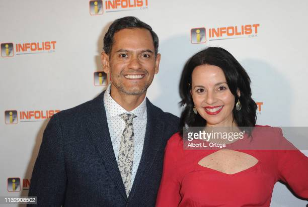 Leo Rod and Ydaiber Orozco arrive for PreOscar Soiree Hosted By INFOListcom and Birthday Celebration for Founder Jeff Gund held at SkyBar at the...