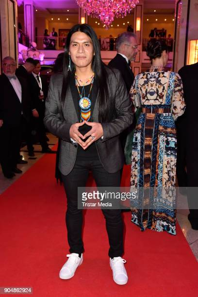 Leo Rojas attends the 117th Press Ball on January 13 2018 in Berlin Germany