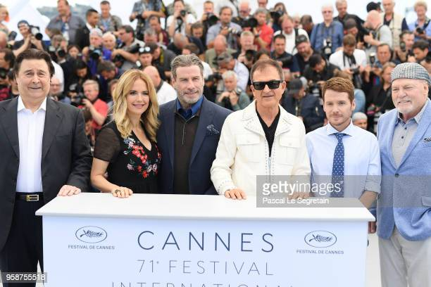 Leo Rossi Kelly Preston John Travolta Edward Walson Kevin Connolly and Stacy Keach attend the photocall for Rendezvous With John Travolta Gotti...