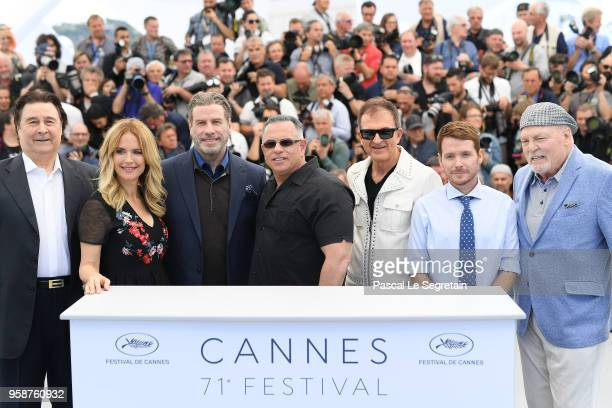 Leo Rossi Kelly Preston John Travolta guest Edward Walson Kevin Connolly and Stacy Keach attend the photocall for Rendezvous With John Travolta Gotti...