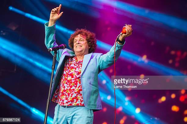 Leo Sayer performs on day two of Rewind Scotland at Scone Palace on July 23 2016 in Perth Scotland