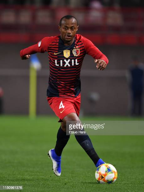 Leo Silva of Kashima Antlers in action during the AFC Champions League Group E match between Kashima Antlers and Shandong Luneng at Kashima Soccer...