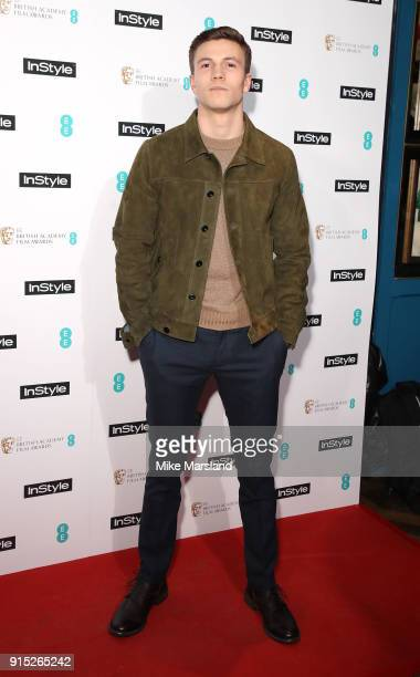 Leo Suter attends the EE InStyle Party held at Granary Square Brasserie on February 6 2018 in London England
