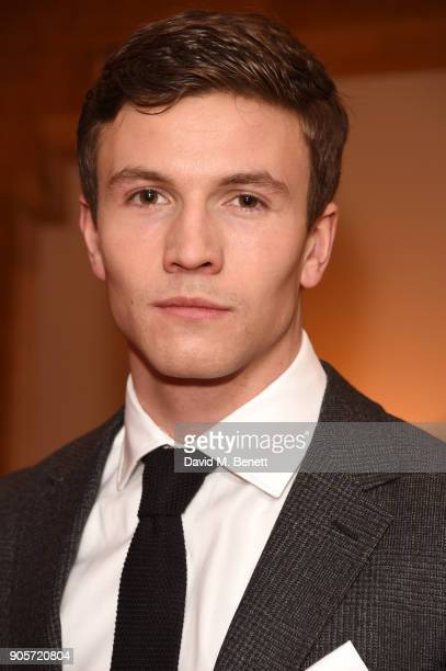 Leo Suter attends the Niquesa PreBAFTA dinner at Claridge's Hotel on January 16 2018 in London England