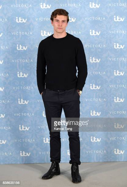 Leo Suter attends the 'Victoria' Season 2 press screening at the Ham Yard Hotel on August 24 2017 in London England