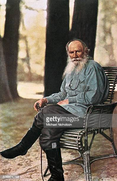 Leo Tolstoy Dressed a Peasant