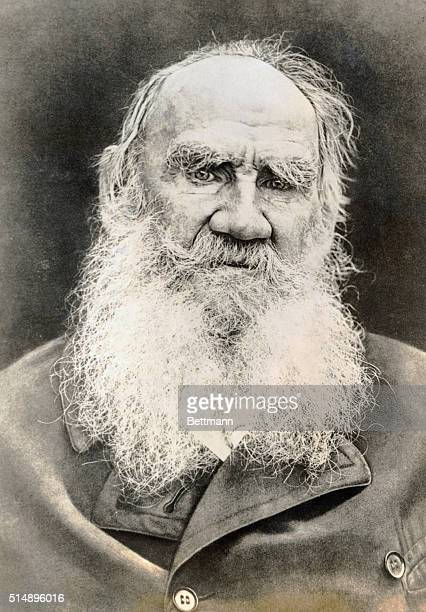 Leo Tolstoy , Russian novelist and moral philosopher.