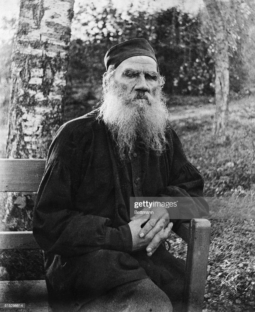 Leo Tolstoy : News Photo