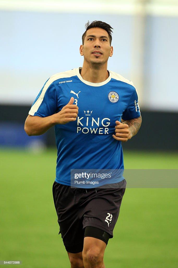 Leicester City Players Return for Pre-Season : News Photo