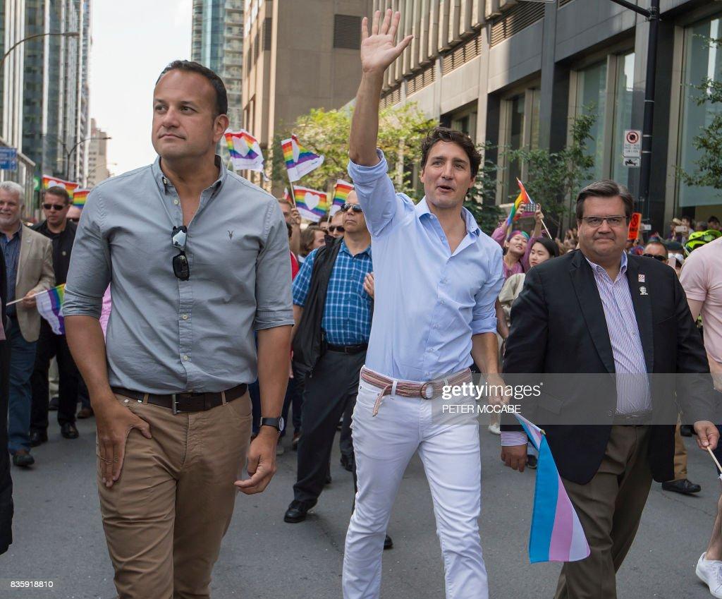 Canada-Ireland-social-gay-homosexuality : News Photo