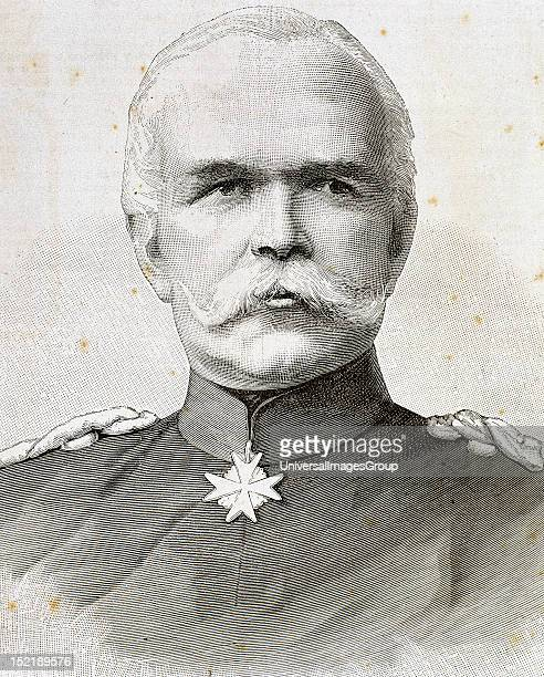 Leo von Caprivi German political and military Otto von Bismarck's successor as Chancellor of Germany Nineteenthcentury engraving
