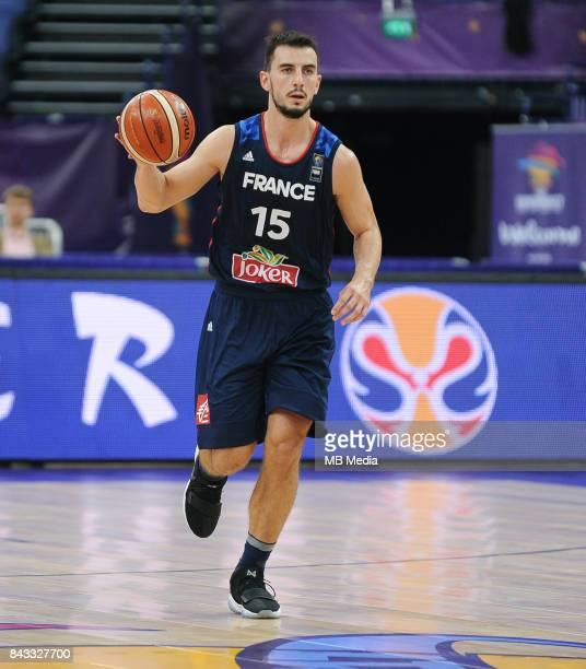 Leo Westermann of France during the FIBA Eurobasket 2017 Group A match between Slovenia and France on September 6 2017 in Helsinki Finland
