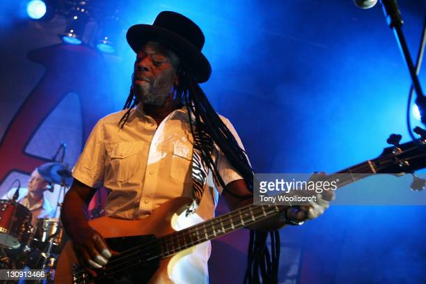 Leo Williams of Big Audio Dynamite performs at Rock City on April 6, 2011 in Nottingham, England.