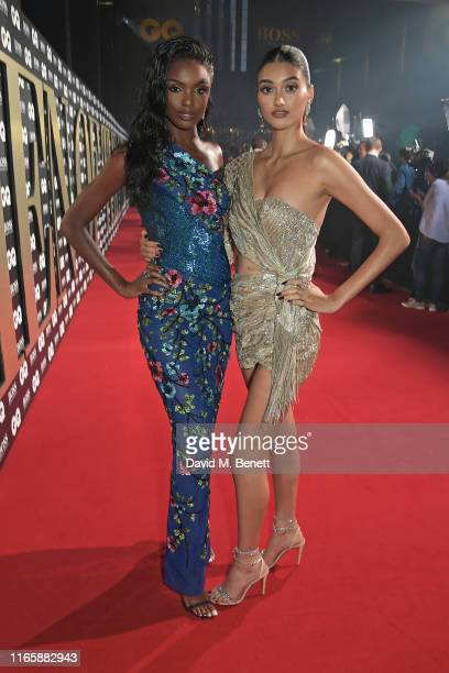 Leomie Anderson and Neelam Gill attend the the GQ Men Of The Year Awards 2019 in association with HUGO BOSS at the Tate Modern on September 3, 2019...