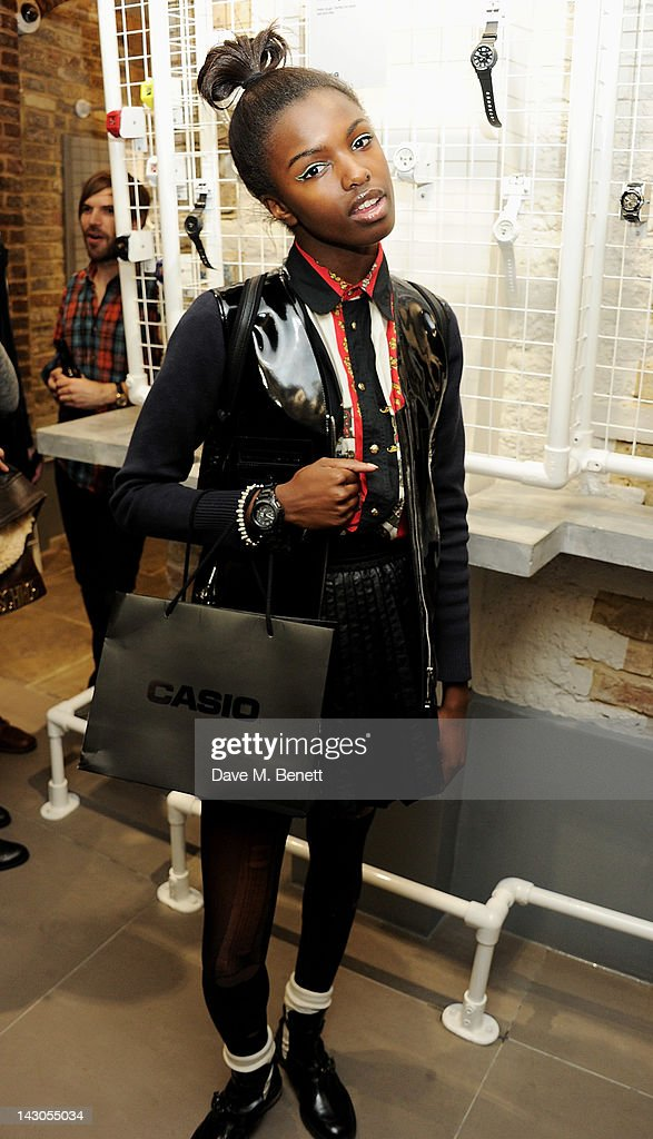 Casio London Global Concept Store Launch : News Photo