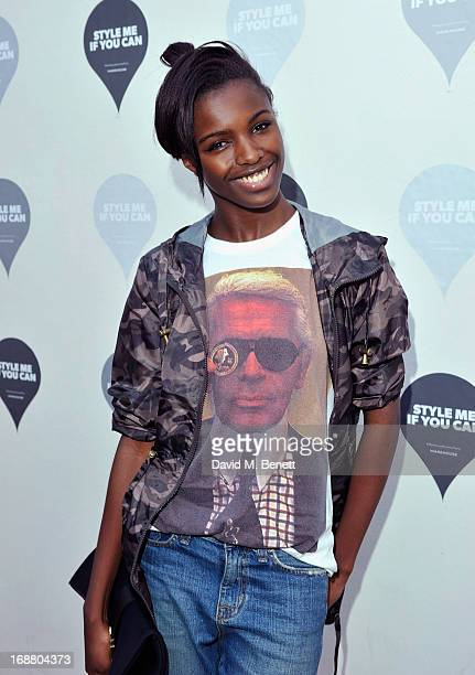 Leomie Anderson attends the Warehouse Summer Party at The Yard on May 15 2013 in London England