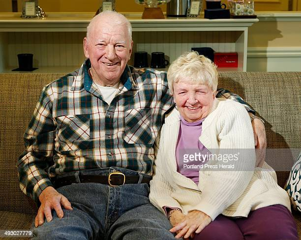 Leon and Barbara Fogg photographed at Avita of Stroudwater a retirement and assisstedliving facility in Westbrook on Wednesday February 12 have been...