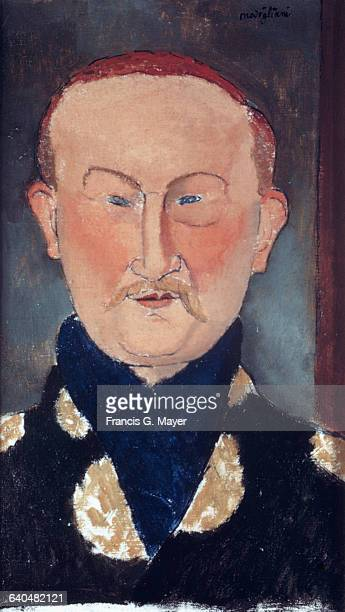 Leon Bakst by Amedeo Modigliani