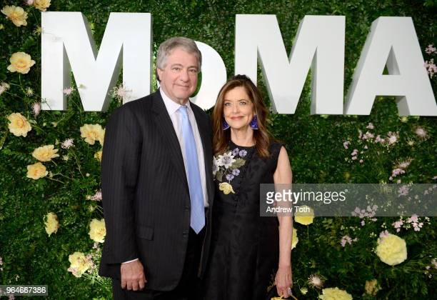 Leon Black and Debra Black attend MOMA's Party in the Garden 2018 at The Museum of Modern Art on May 31, 2018 in New York City.