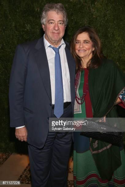 Leon Black and Debra Black attend Prostate Cancer Foundation Presents the 2017 New York Dinner on November 6, 2017 in New York City.