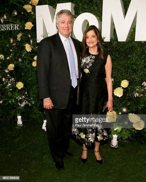 Leon Black and Debra Black attend the 2018 MoMA Party In The Garden at Museum of Modern Art on May 31, 2018 in New York City.
