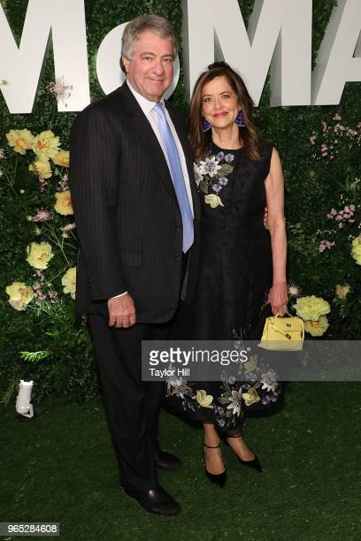 Leon Black and Debra Black attend the 2018 Party in the Garden at Museum of Modern Art on May 31, 2018 in New York City.