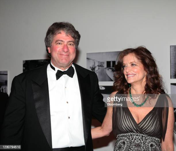 Leon Black, chairman and chief executive officer of Apollo Global Management LLC, and his wife, Debra Black, chairman and co-founder of Melanoma...