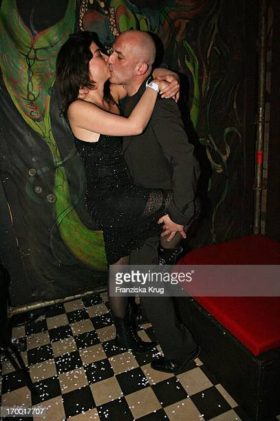 Leon Boden And Birgit Hass At The After Show Party in Kit Kat Club after the premiere of Basic Instinct 2 in Berlin 220306