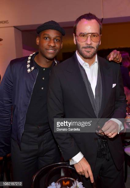Leon Bridges and Tom Ford attend the Hammer Museum 16th Annual Gala in the Garden with generous support from South Coast Plaza at the Hammer Museum...