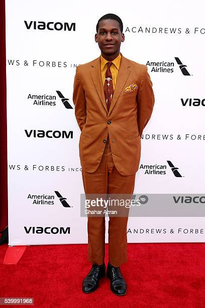 Leon Bridges attends Prince Walk of Fame Induction and 2016 Spring Gala at The Apollo Theater on June 13 2016 in New York City