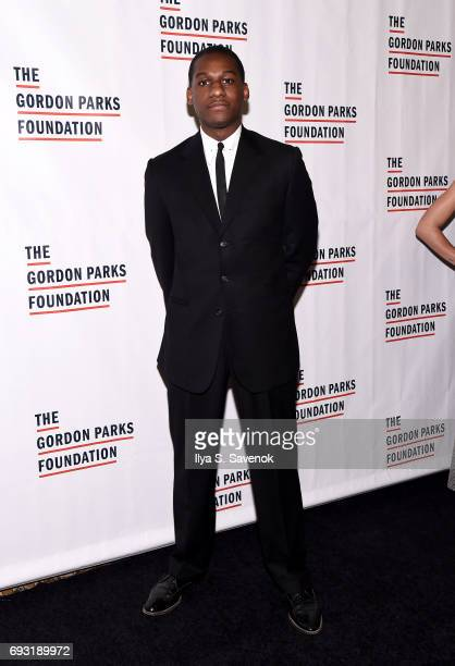 Leon Bridges attends the 2017 Gordon Parks Foundation Awards Gala at Cipriani 42nd Street on June 6 2017 in New York City