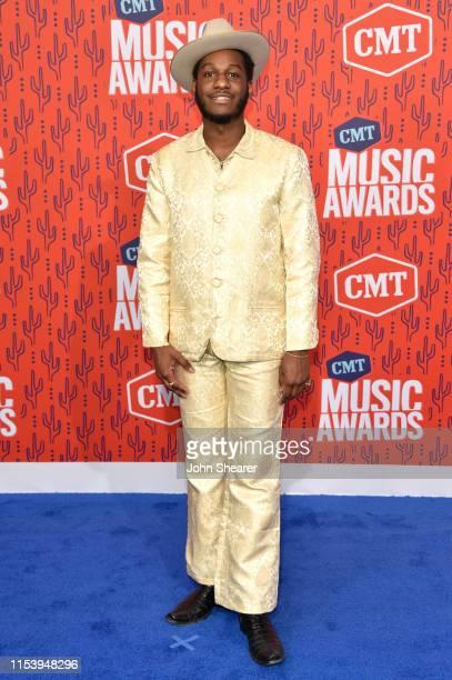 Leon Bridges attends the 2019 CMT Music Awards at Bridgestone Arena on June 05, 2019 in Nashville, Tennessee.