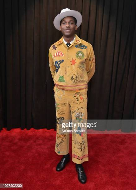 Leon Bridges attends the 61st Annual GRAMMY Awards at Staples Center on February 10, 2019 in Los Angeles, California.
